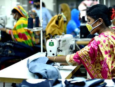 FOTO: Intip Aktivitas Pekerja Garmen di Bangladesh