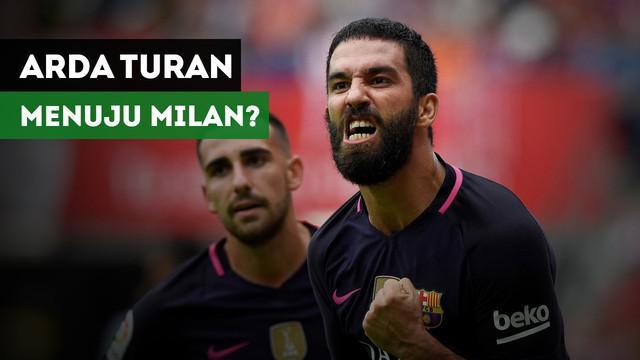 Gelandang Barcelona, Arda Turan ditawarkan ke AC Milan.