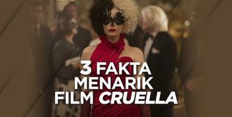 3 Fakta Menarik Film Cruella yang Baru Tayang di Bioskop Indonesia