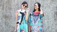 Persahabatan Ririn Dwi Ariyanti dan Agla Artalidia (sumber: instagram/@ririndwiariyanti)