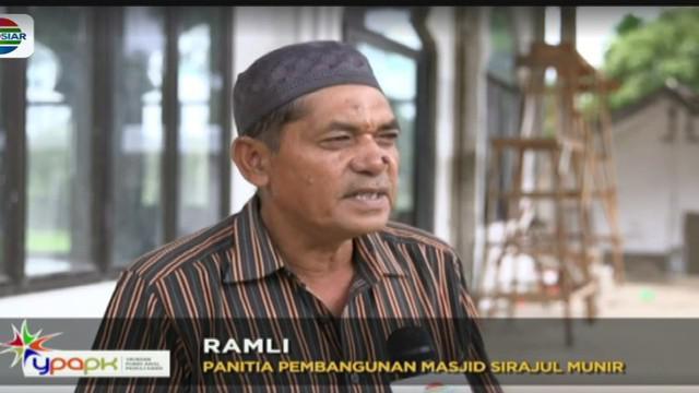 Renovasi sejumlah rumah ibadah di Kota Sabang merupakan wujud kepedulian Indosiar