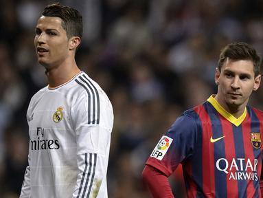 Termasuk Messi dan Ronaldo, berikut daftar 5 pemain yang menjadi top skor atau pencetak gol terbanyak di klubnya pada abad ke-21. (Foto: AFP/Dani Pozo)