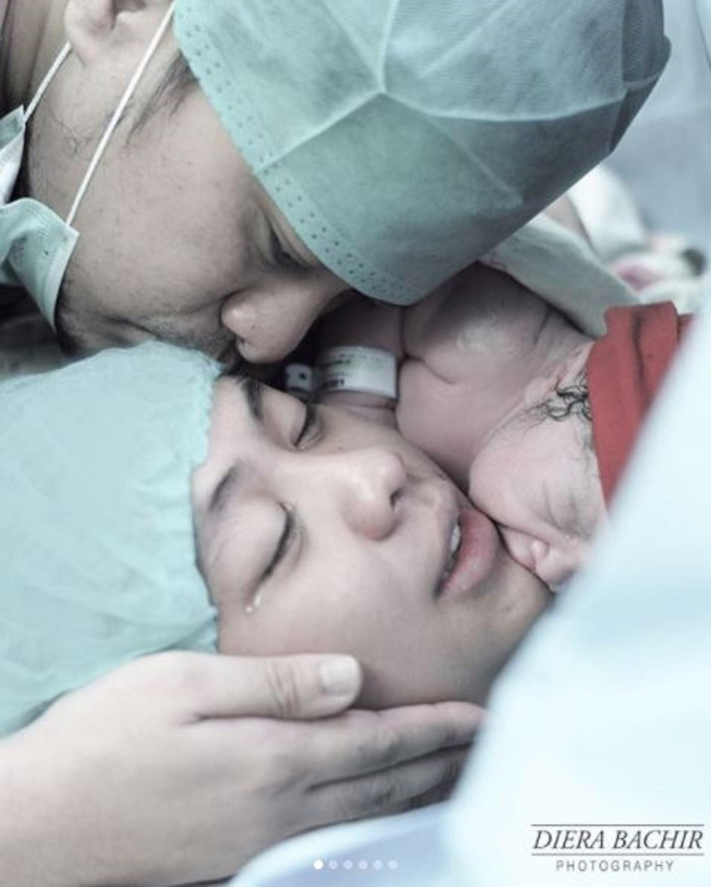 Oki Setiana Dewi melahirkan anak ketiganya (Instagram/@dierabachir)