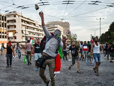 Kedutaan Israel di Yunani Dilempari Batu