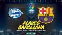 La Liga - Deportivo Alaves Vs Barcelona (Bola.com/Adreanus Titus)