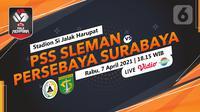 PSS Sleman vs Persebaya Surabaya (liputan6.com/Abdillah)