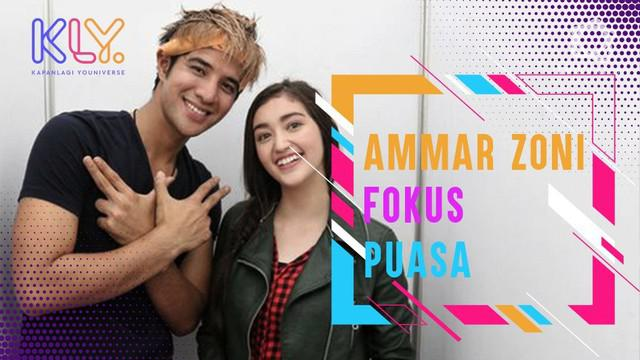 Menjalani hubungan jarak jauh dengan Ranty Maria, Ammar Zoni akui fokus puasa