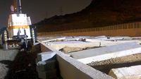 Lokasi pemakaman korban tragedi Mina di Mekah, Arab Saudi. (Liputan6.com/Wawan Isab Rubiyanto)