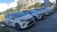 PT Astra Daihatsu Motor (ADM)menargetkan citycar model terbarunya new Sirion dapat laku terjual hingga 200 unit perbulan. (Herdi Muhardi)