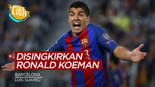 Berita video spotlight kali ini membahas tentang empat pemain hebat Barcelona yang tersingkir di bawah Ronald Koeman.