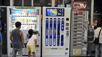 Vending machine yang biasanya berisi makanan atau minuman, di jepang berisi benda sehari-hari (Sumber foto: tokyoblingswordpress)