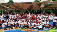 Jambore Nasional ke-6 AvanzaXenia Indonesia Club (AXIC) berlangsung di Karawang, Jawa Barat. (Merdeka.com)