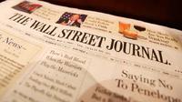 Surat kabar Wall Street Journal (foto: the guardian)