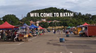 Monumen Welcome to Batam