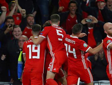FOTO: Gol Gareth Bale Bawa Wales Kalahkan Azerbaijan