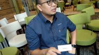 Wasekjen DPP Partai Gerindra Andre Rosiade menyambangi Kantor acebook dan Instagram di Gedung Capital Palace, Jakarta Selatan, Jumat, 14 Juni 2019. (Merdeka.com/Ahda Bayhaqi)