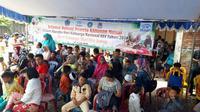 Khitanan massal yang digelar di Manado ini merupakan rangkaian acara puncak peringatan Hari Keluarga Nasional (Harganas) ke-25 di Manado, Sulawesi Utara.