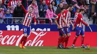 Atletico Madrid meraih kemenangan dengan skor 2-0 saat menjamu Athletic Bilbao. (doc. La Liga)