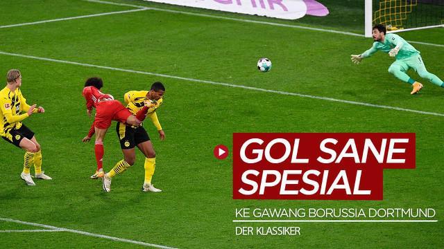 Berita video beberapa fakta yang membuat gol ketiga bintang Bayern Munchen, Leroy Sane, di Bundesliga menjadi spesial.