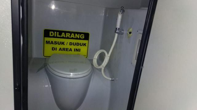 Rindu Kampung Halaman, Pemudik Rela Bersembunyi di Toilet Bus ...