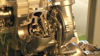 Mesin Diesel Turbo.