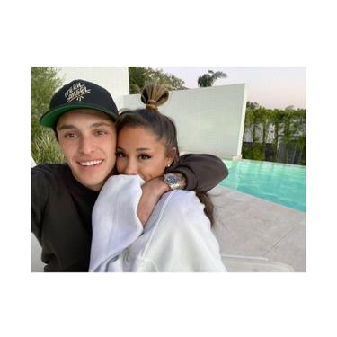Ariana Grande dan Dalton Gomez. (Instagram/ arianagrande)