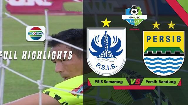 Persib Bandung menelan kekalahan 0-3 saat bertandang ke markas PSIS Semarang, Minggu (18/11/2018) dalam lanjutan Gojek Liga 1 2018 bersama Bukalapak.