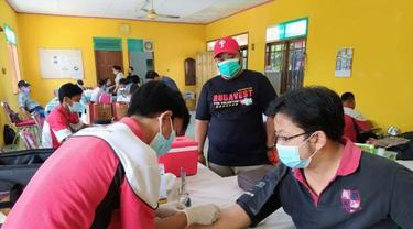 PMI Kota Tangerang Datangi Penyintas Covid-19 untuk Stok Plasma Konvalesen