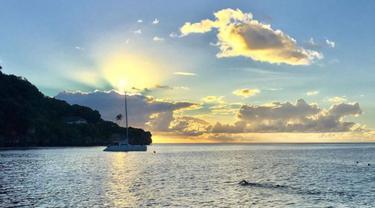 Pemandangan Christmas Island.