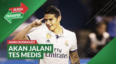 Berita Video James Rodriguez Siap Bermain Untuk Everton