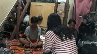 Siswa SMP di Jakarta Tak Mampu Membeli Handphone Sehingga Tak Bisa Belajar Online.(Foto:Istimewa).