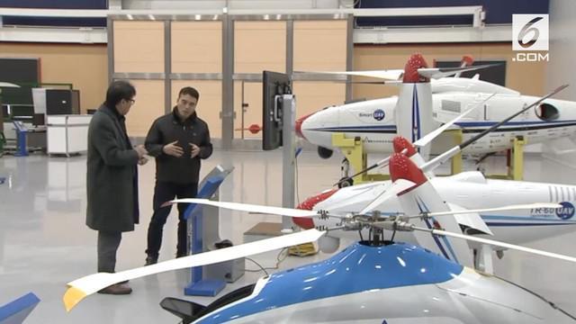 Korea Selatan menggunakan pesawat tanpa awak untuk menjalankan teknologi modifikasi cuaca hujan buatan.