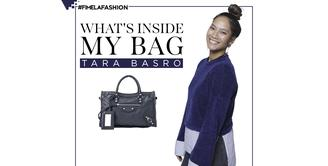 What's In My Bag Tara Basro