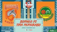 Shopee Liga 1 - Borneo FC Vs Tira Persikabo (Bola.com/Adreanus Titus)