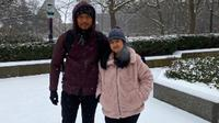 AHY dan Almira Tunggadewi Yudhoyono (Screenshot Instagram @agusyudhoyono/https://www.instagram.com/p/B6Ms55knZZ6/Putu Elmira)