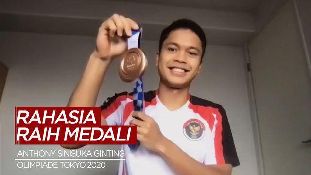 Berita Video Rahasia Anthony Sinisuka Ginting Raih Medali di Olimpiade Tokyo 2020