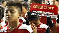 Cover Story: Ribuan Anak  Bermimpi Jadi Pebulutangkis Dunia (Bola.com/Samsul Hadi)