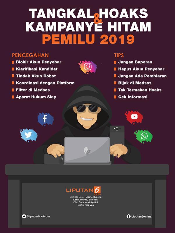 newest 86dd0 64d78 Infografis Tangkal Hoaks dan Kampanye Hitam Pemilu 2019.  (Liputan6.com Triyasni)