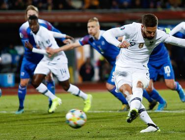 Prancis kalahkan Islandia