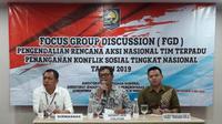 Forum Group Discussion (FGD) yang digelar oleh Kemendagri.