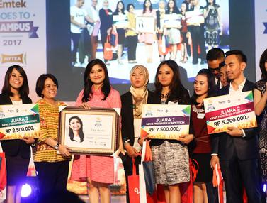 Juara Kompetisi News Presenter EGTC 2017