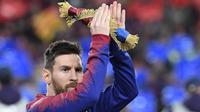 4. Lionel Messi (Barcelona/Argentina) - 167,4 juta Euro. (AFP/Lluis Gene)