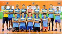 Tim Putra Berlian Bank Jateng di Livoli 2019 Divisi Utama. (instagram.com/semarangbankjatengvoli)