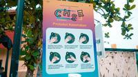 Ilustrasi penerapan CHSE di tempat wisata di Bali. (dok. Biro Komunikasi Publik Kemenparekraf)