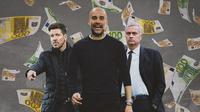 Ilustrasi - Diego Simeone, Pep Guardiola, Jose Mourinho (Bola.com/Adreanus Titus)