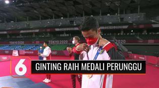 VIDEO: Tambah Perolehan Medali untuk Indonesia, Anthony Ginting Berhasil Raih Perunggu