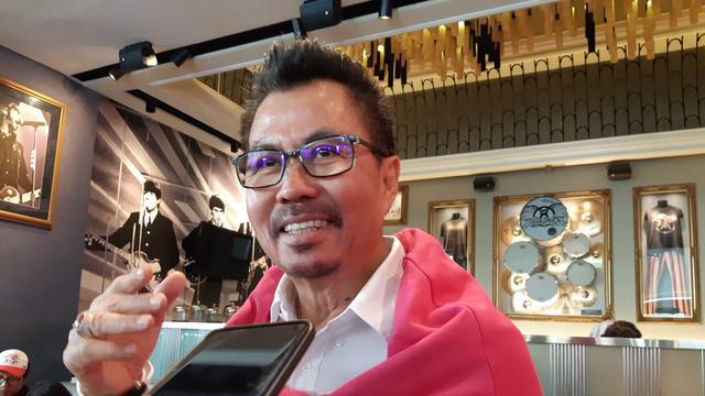 Deputy CEO Smartfren Djoko Tata Ibrahim saat ditemui di sela peluncuran program loyalitas pelanggan Smartpoin 2.0 di Hard Rock Cafe Jakarta, Rabu (30/10/2019)