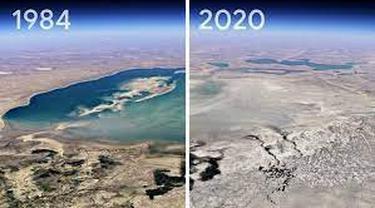 Google Earth Perubahan Kondisi Bumi