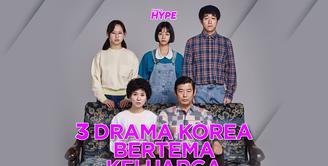 Berikut adalah beberapa rekomendasi drama Korea yang bertema keluarga. Yuk, kita simak videonya!