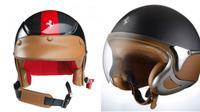 Helm besutan Ferrari ini tersedia dalam sejumlah varian warna, termasuk hitam, abu-abu, kuning serta beberapa warna kombinasi.